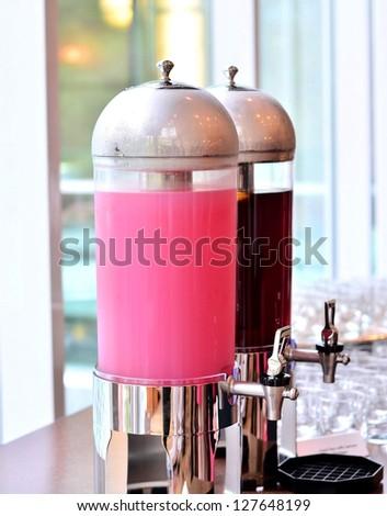 Drink dispensing device - stock photo