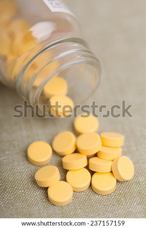 Drink drug tablets