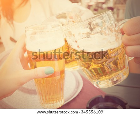 Drink it up! - stock photo