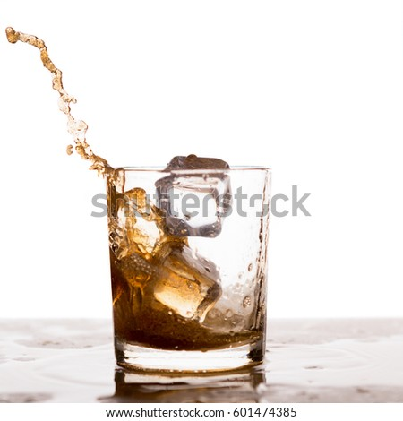 how to drink brandy with ice