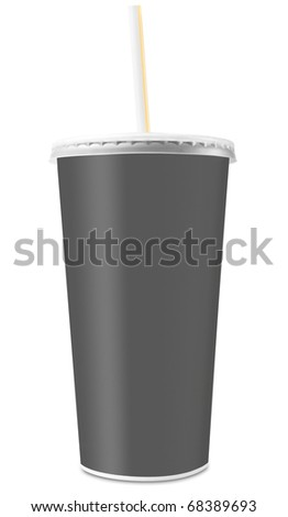 Drinking cup - stock photo