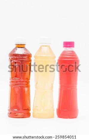 Drinks in bottles - stock photo