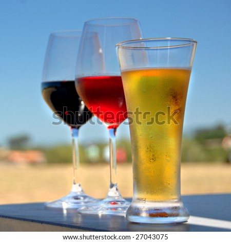 Drinks Time - stock photo