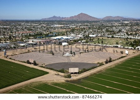 Drive In Theater - stock photo