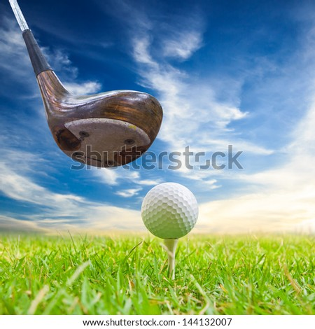how to hit a golf ball with your driver