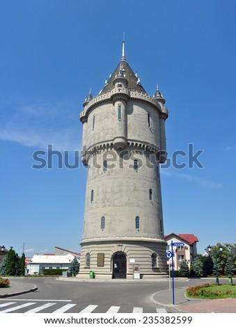 drobeta turnu severin romania water castle landmark - stock photo