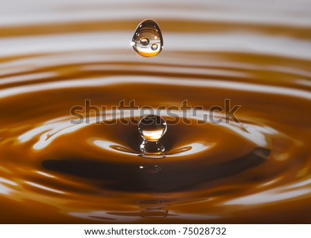 Drop - stock photo