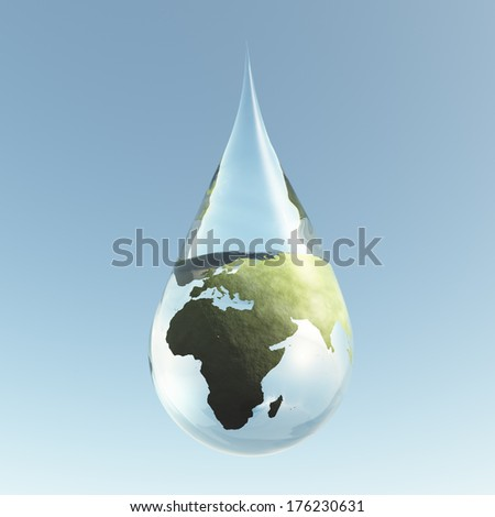 Droplet Africa Asia
