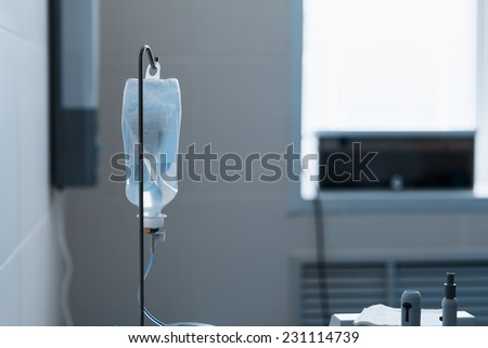 Dropper with a solution - stock photo