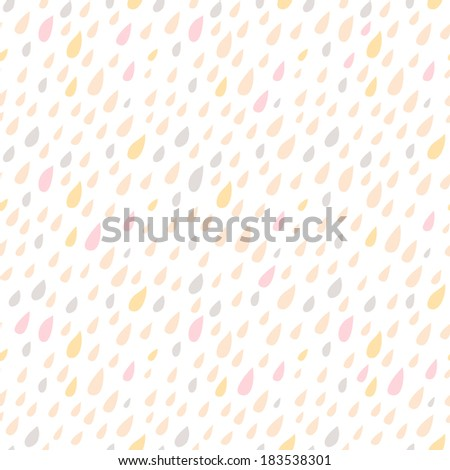 Drops seamless background. Raster version. Seamless pattern can be used for wallpaper, pattern fills, web page background, surface textures - stock photo