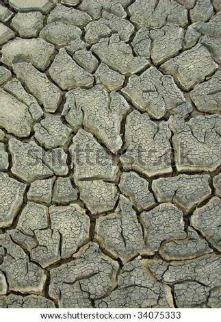drought crack background  - stock photo