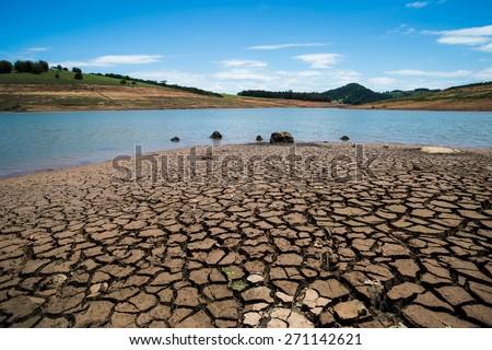 Drought in Brazil - stock photo