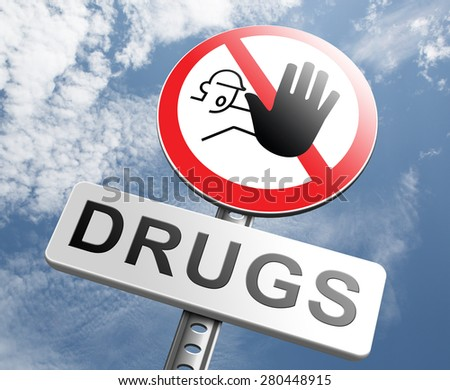 drug abuse and addiction stop addict by rehabilitation in rehab center no drugs cocaine heroin crack Christal meth  - stock photo