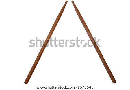 drum stick - stock photo