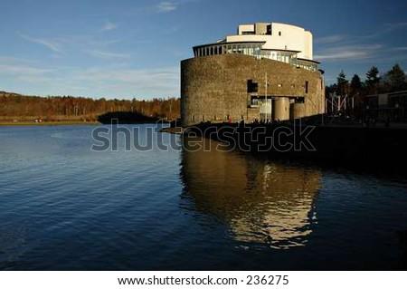 Drumkinnon Tower - stock photo