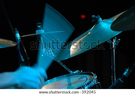 Drummer - stock photo