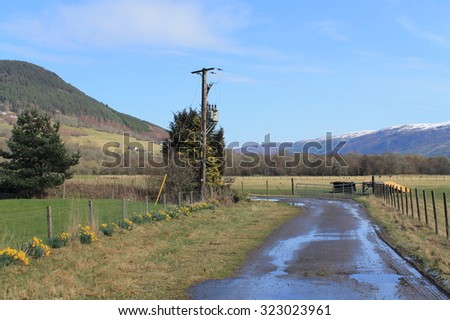 Drumnadrochit - Scotland - stock photo