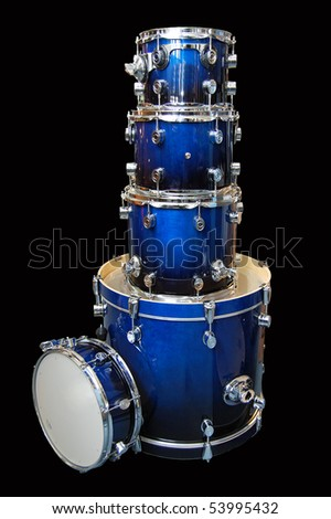 drumset - stock photo
