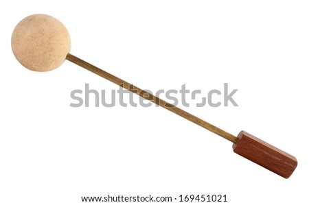 Drumstick percussion mallet stick vintage - stock photo