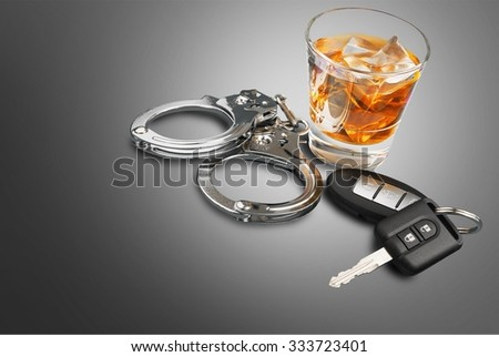 Drunk Driving. - stock photo