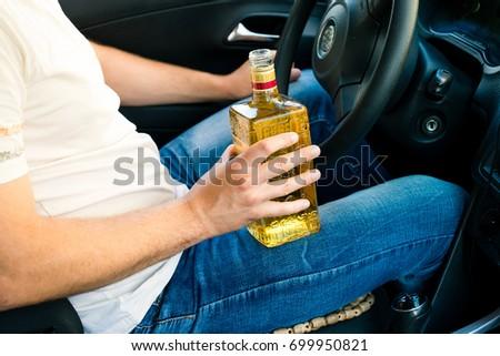 Sitting in a car drunk