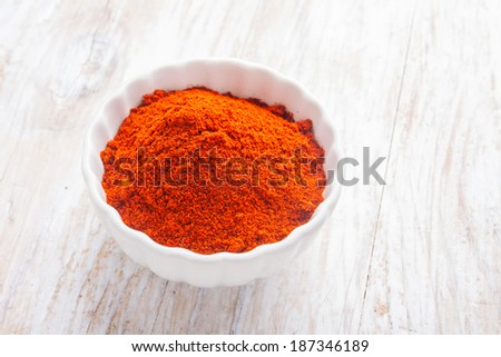 dry chilli pepper