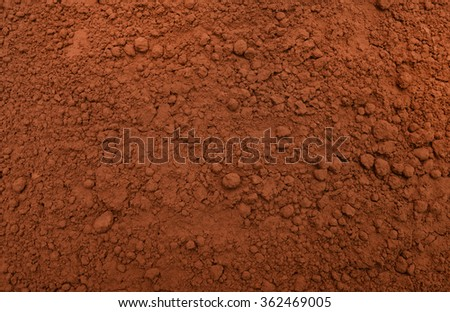 dry dehydrated cocoa powder condiment texture pattern