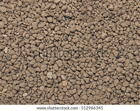 dry dirt background - stock photo