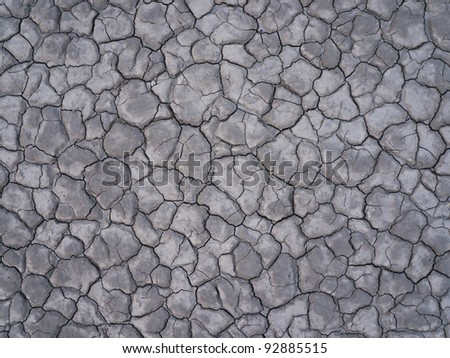 Dry Lakebed - stock photo