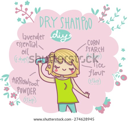 dry shampoo do it yourself illustrated recipe