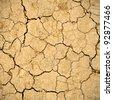 Dry soil background - stock photo