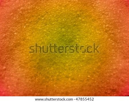 Dry yellow sponge background - stock photo