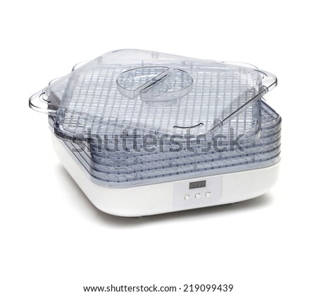 dryer on the white background - stock photo
