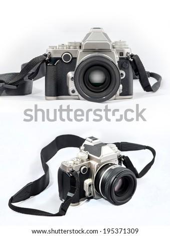 Dslr Retro Camera  - stock photo