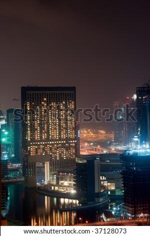 Dubai Architecture - stock photo
