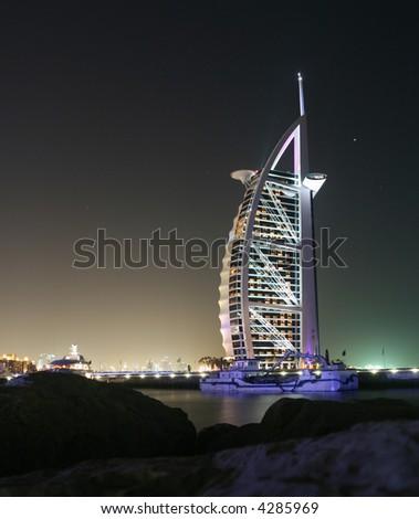 Dubai Symbolism - stock photo
