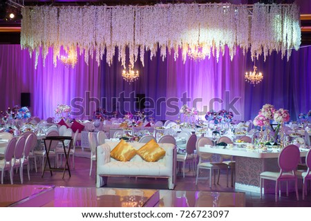 Dubai uae august 1 wedding flowers decoration stock photo download dubai uae august 1ding flowers decoration in intercontinental dubai festival junglespirit Gallery