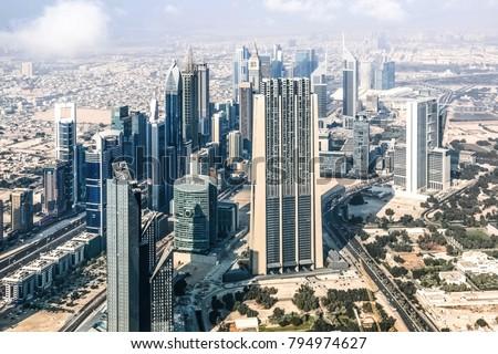 Dubai United Arab Emirates 01062018 Roof Stockfoto (Lizenzfrei ...