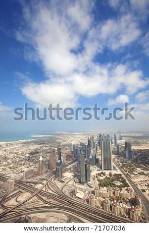 Dubai view - stock photo