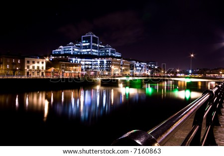 Dublin Night Out Dublin Docklands at Night