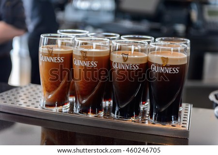 Guinness stock photos royalty free images vectors for Guinness beer in ireland