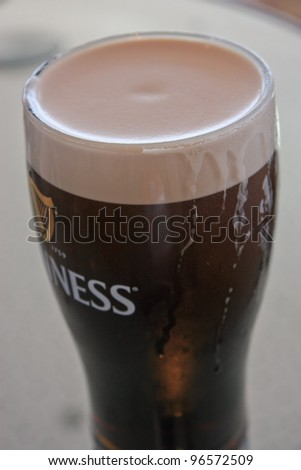 Dublin pub stock images royalty free images vectors for Guinness beer in ireland