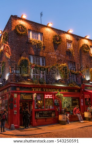 Temple Bar Dublin Stock Images, Royalty-Free Images & Vectors ...