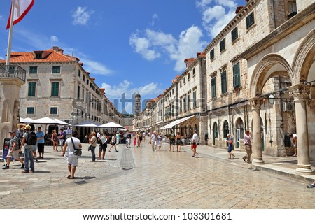 Dubrovnik - Croatia - stock photo