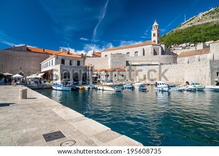 Dubrovnik - Croatia 2 - stock photo