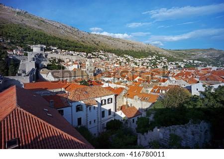 Dubrovnik, Croatia. - stock photo