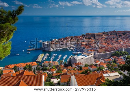 Dubrovnik in Croatia - stock photo