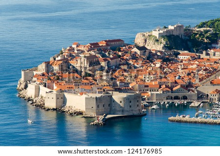 Dubrovnik - Old town - stock photo