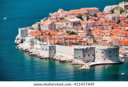 Dubrovnik - old town and fort