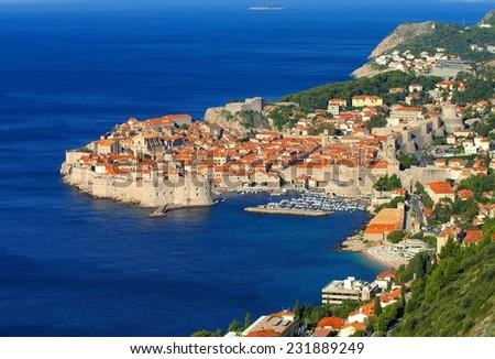 Dubrovnik view  - stock photo